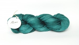 Lace Silky Star 517 Teal