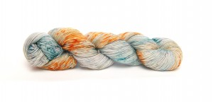 Single Merino Meme Yarns 51 Rocket Rust